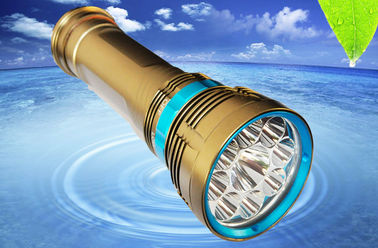 Scuba Diving Senter Scuba Diving Torch 8000Lm Aluminium Alloy Material